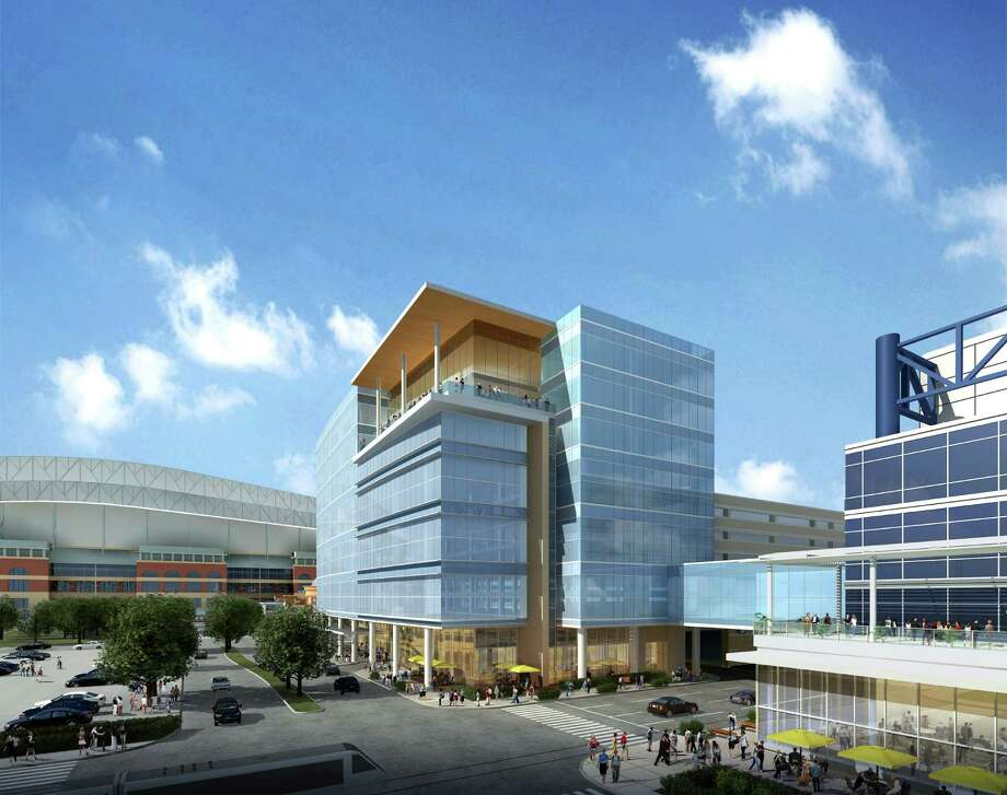 The 10-story Greater Houston Partnership Building is expected to be completed in early 2016. Photo: WHR Architects