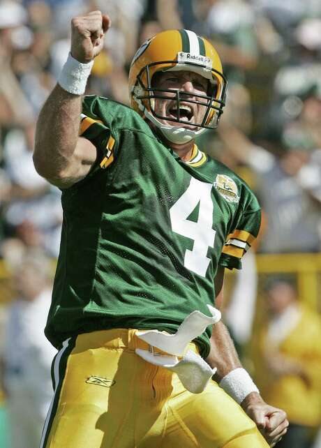 Brett Favre spent 16 years in Green Bay before an awkward departure led him to the Jets and Vikings. Photo: Morry Gash / Associated Press / AP
