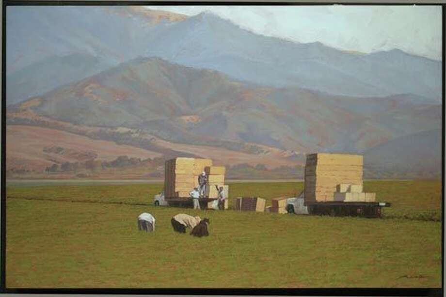 """Salinas,"" by Nick Brown from the Art Collection at Levi's Stadium."
