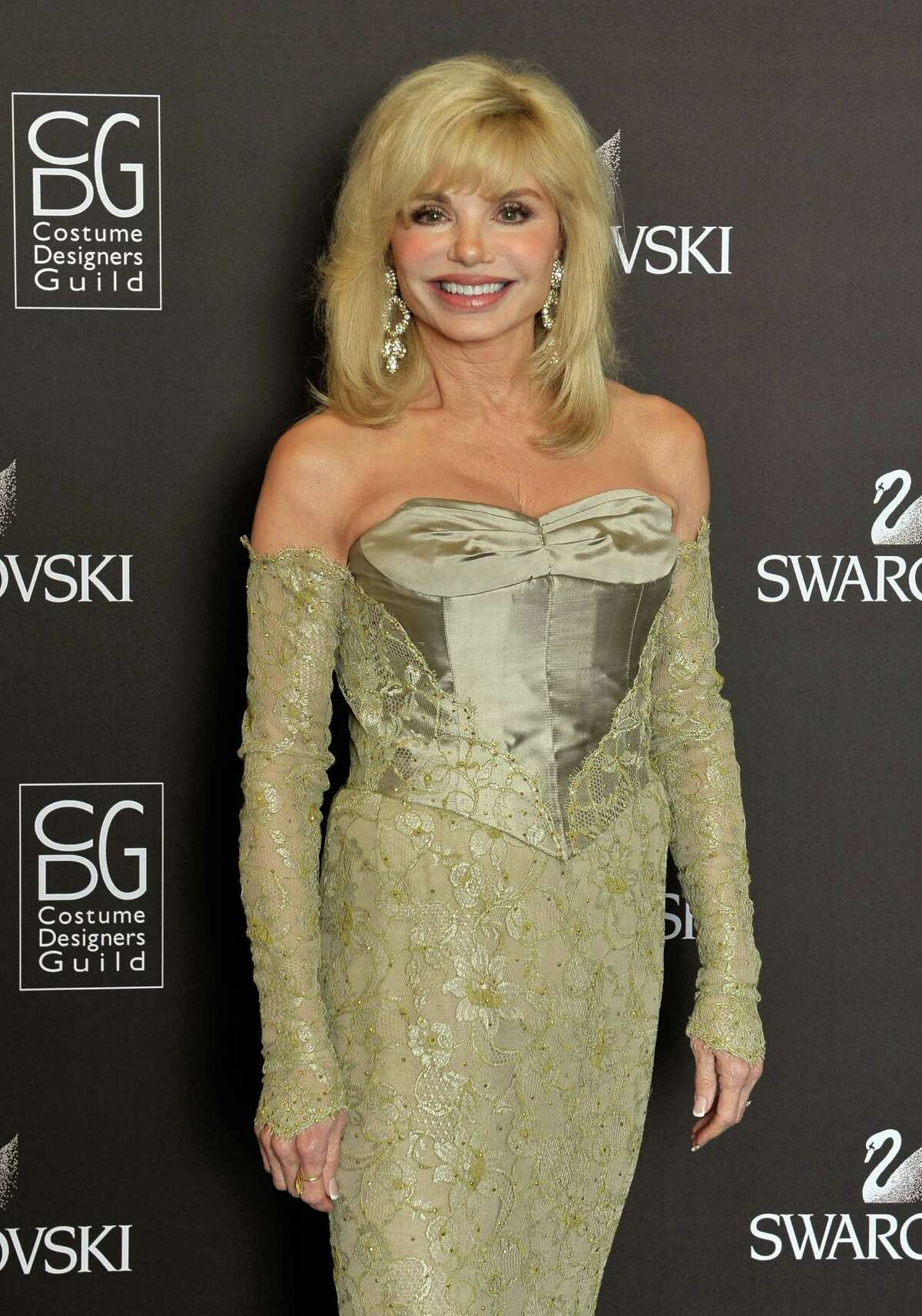 BEVERLY HILLS, CA - FEBRUARY 25: Actress Loni Anderson backstage during the 12th Annual Costume Designers Guild Awards with Presenting Sponsor Swarovski at The Beverly Hilton hotel on February 25, 2010 in Beverly Hills, California. (Photo by Charley Gallay/Getty Images for CDG)