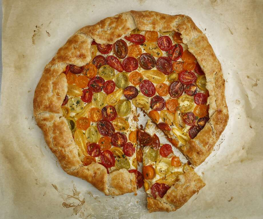Cherry Tomato Galette. Photo: Russell Yip, The Chronicle