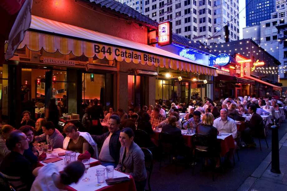 B44SAN FRANCISCO  The Catalan restaurant nestled in Belden Place played host to the entire team when they won their record-setting73rd gamein 2016. Photo: Peter DaSilva, Special To The Chronicle