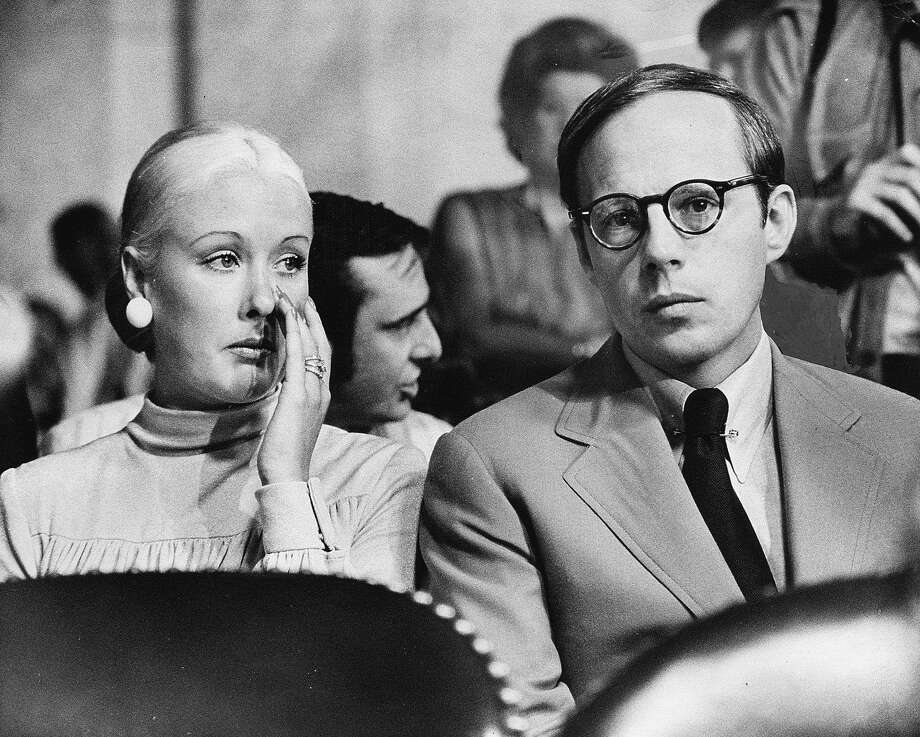 Former Presidential aide John Dean III on waiting to testify with Mrs. Dean at his side on June 25, 1973 in Washington, D.C. (Photo By James K. W. Atherton/The Washington Post via Getty Images) Photo: The Washington Post, The Washington Post/Getty Images / Connecticut Post contributed