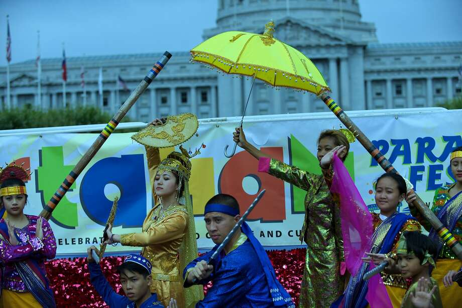 The Pistahan parade will lead off the festival with a march from Civic Center to Yerba Buena Gardens. Photo: Neil Enriquez