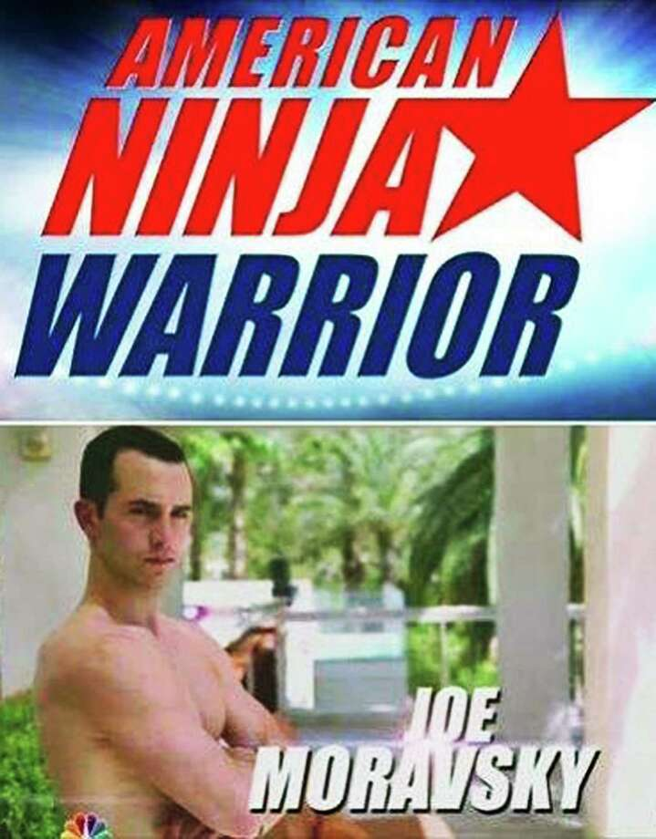 Joe Moravsky, 25, of Sherman has taken his athletic talents once again the final stages of the American Ninja Warrior competition. August 2014  Courtesy of NBC TV Photo: Contributed Photo / The News-Times Contributed