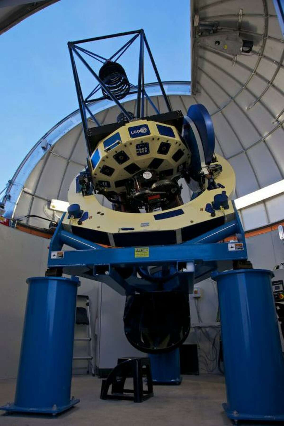 Las Cumbres Observatory Global Telescope Network will see first light at McDonald Observatory.