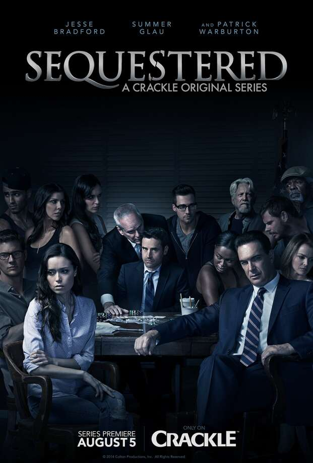 Summer Glau of San Antonio (far left front) leaves her sci-fi/superhero comfort zone for new courtroom thriller. Photo: Crackle