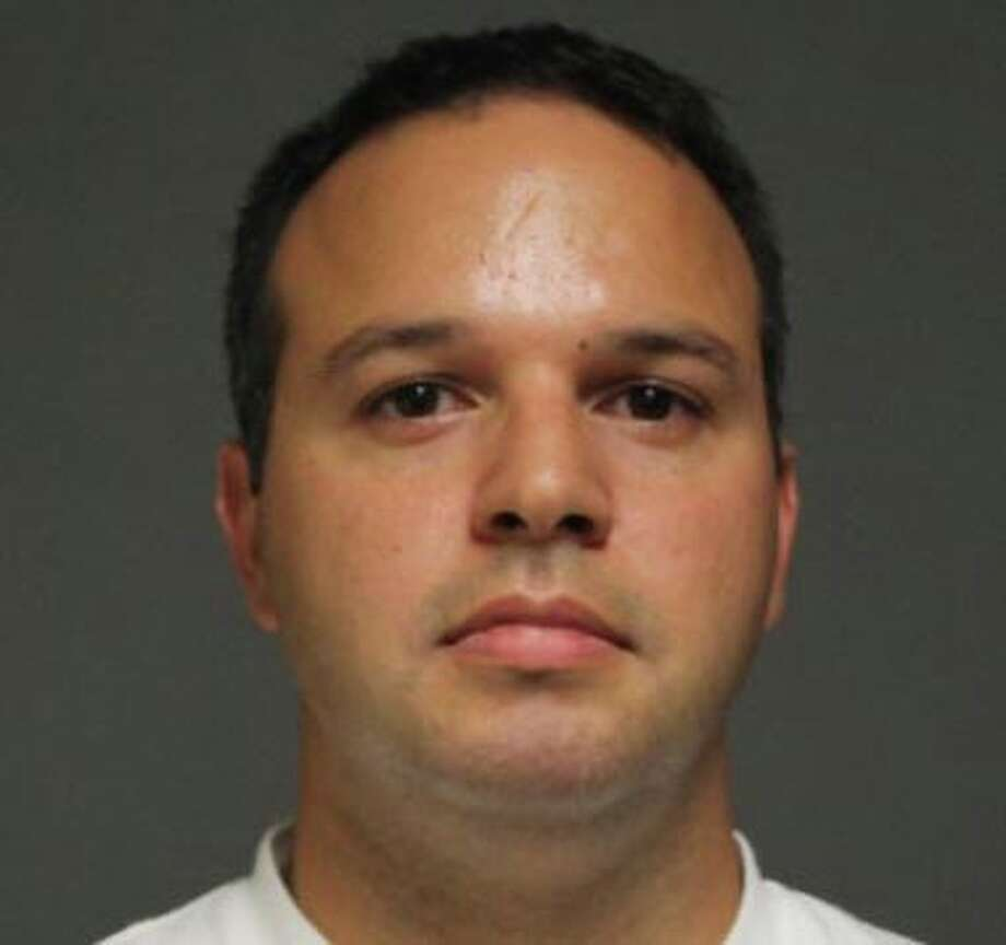 Gianni Dimeglio, 34, of Trillium Circle, was arrested on a warrant Monday in connection with a three-car accident in June. Photo: Contributed Photo /  Fairfield Citizen contributed