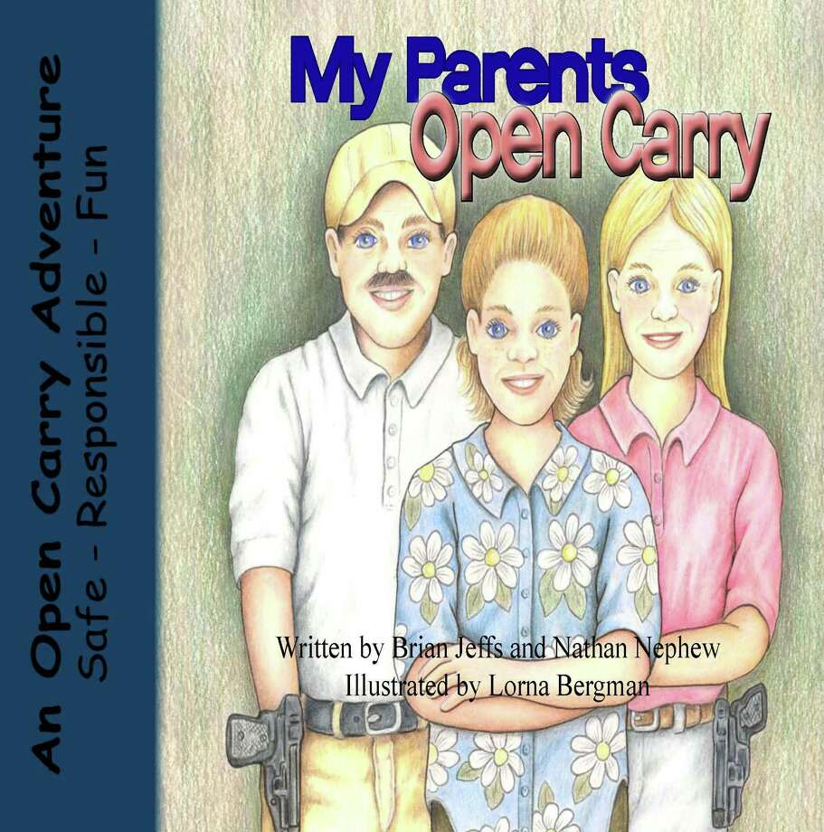 My Parents Open Carry, just a typical Saturday running errands, but with handguns. Photo: Book Cover