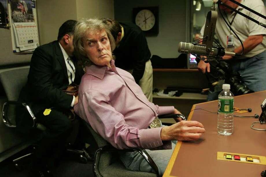 Radio show host Don Imus Photo: Spencer Platt, Wire Photo / 2007 Getty Images