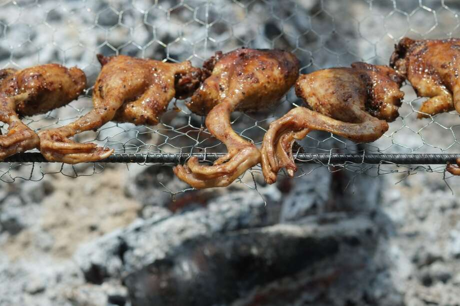 2014 Cochon Heritage Fire: Talons. Photo: Galdones Photography, LLC, Cochon