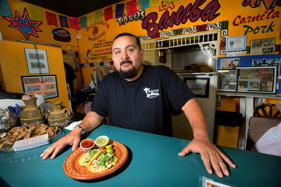 Carlos Zuniga, owner of Tacos La Bamba.  Photo taken Tuesday, May 20, 2014 Guiseppe Barranco/@spotnewsshooter