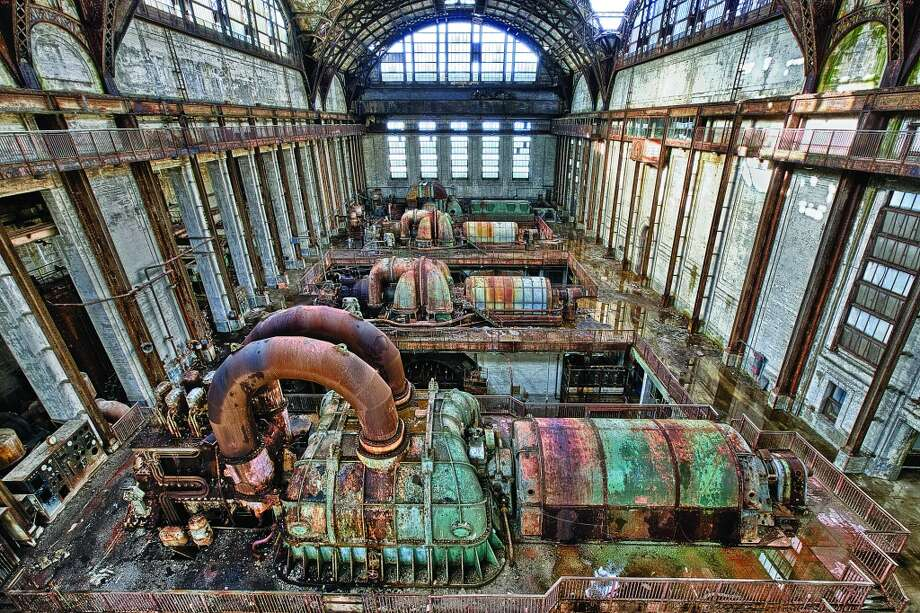 The Richmond Power Plant's Turbine Hall is one of the biggest open rooms ever designed and once housed the world's largest Westinghouse turbo-generators, providing power to much of Philadelphia's bustling industrial and residential sectors in the middle part of the 20th century. Photo: Eric Holubow