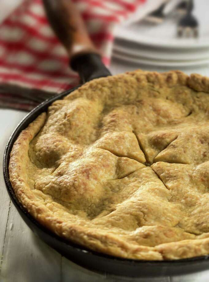 A true cowgirl breakfast: apple pie with cheddar cheese. Photo: Bill Hogan, MBR / Chicago Tribune