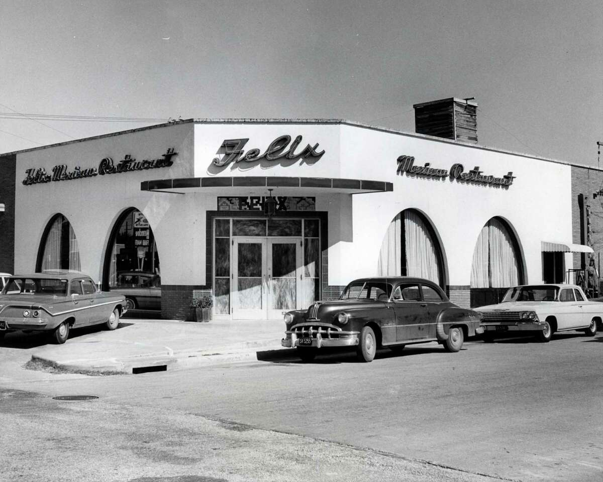 That first restaurant grew into a chain. Tijerina is believed to have been Houston's first Hispanic millionaire. Above: Felix Mexican Restaurant, 1962, in the Rice Village. Orie Collins / Houston Chronicle