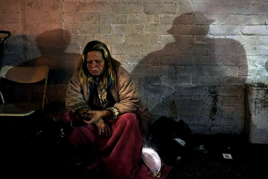 The percentage of women on Skid Row ages 51 to 61 jumped from 23 percent in 2001 to 40 percent in 2013. Photo: Jae C. Hong, Associated Press