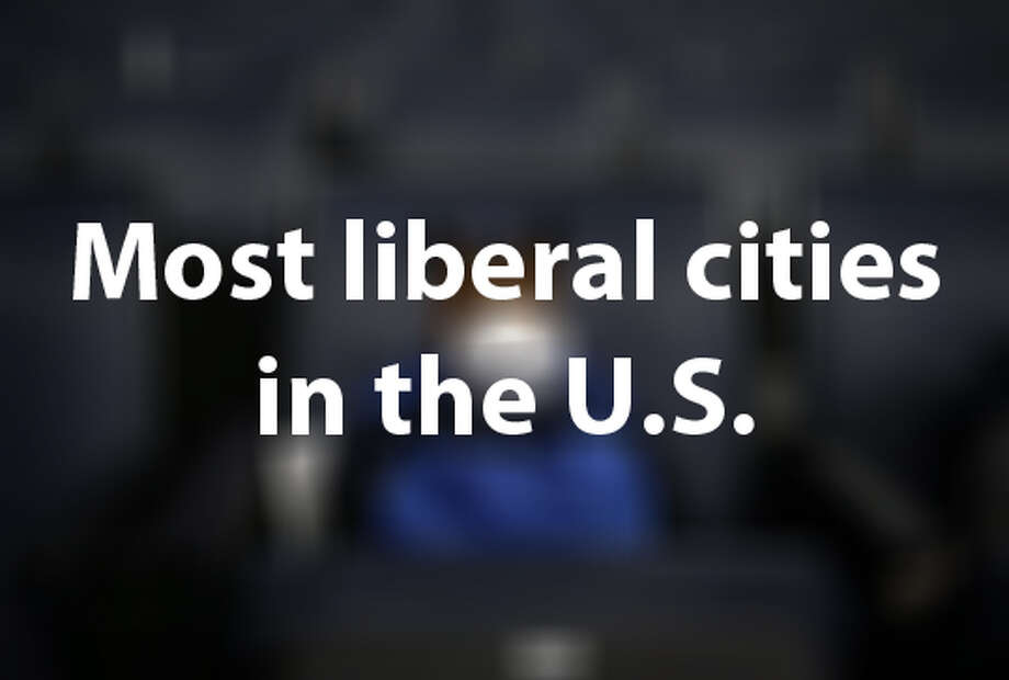 """Based on data from an upcoming survey in the """"American Political Science Review,"""" the Economist  has created a report that showcases the political leanings for U.S.  cities that have populations over 275,000 people. The following cities  are more left-leaning than most."""