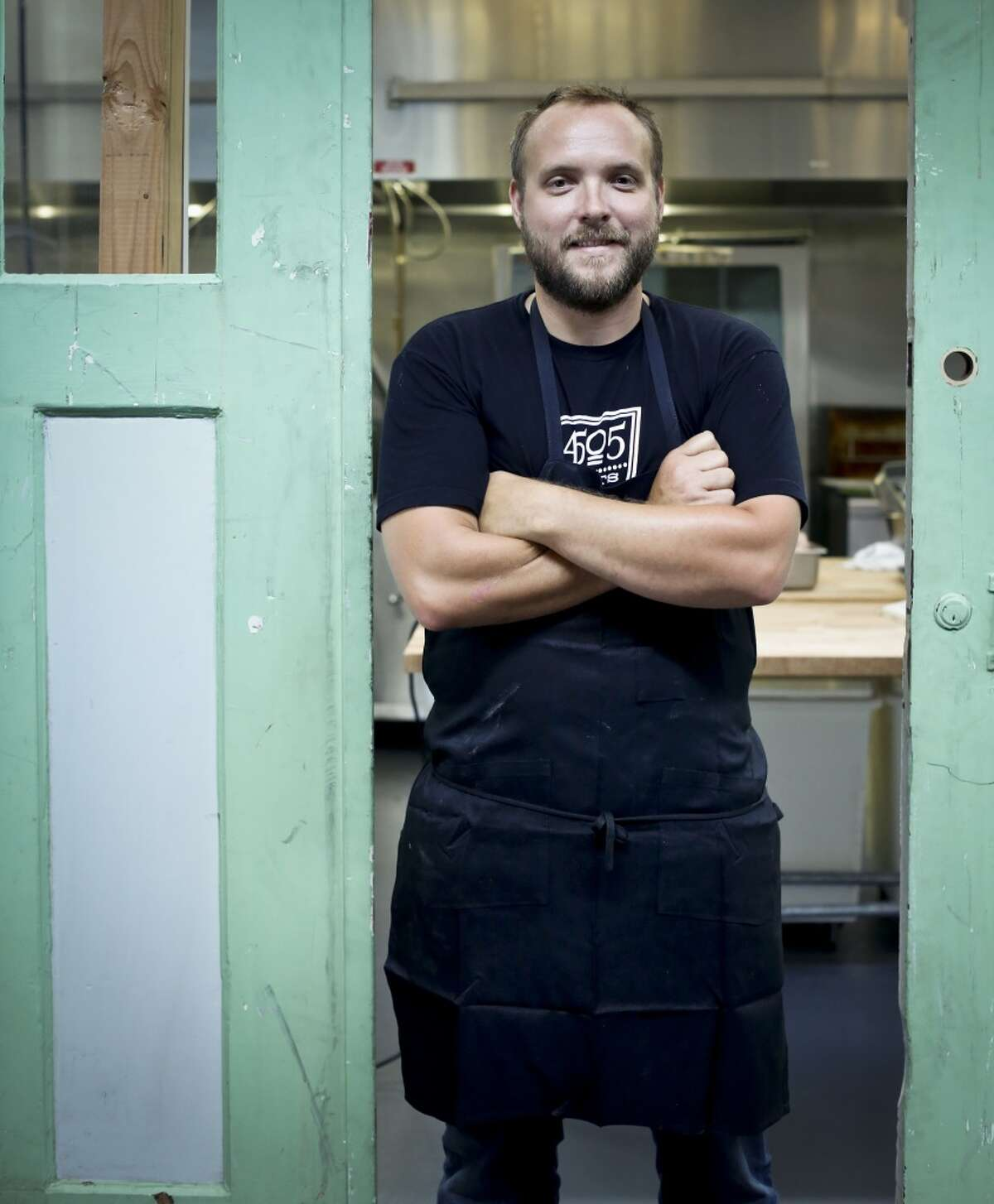 Ryan Farr of 4505 Meats is seen on Tuesday, July 15, 2014 in San Francisco, Calif.