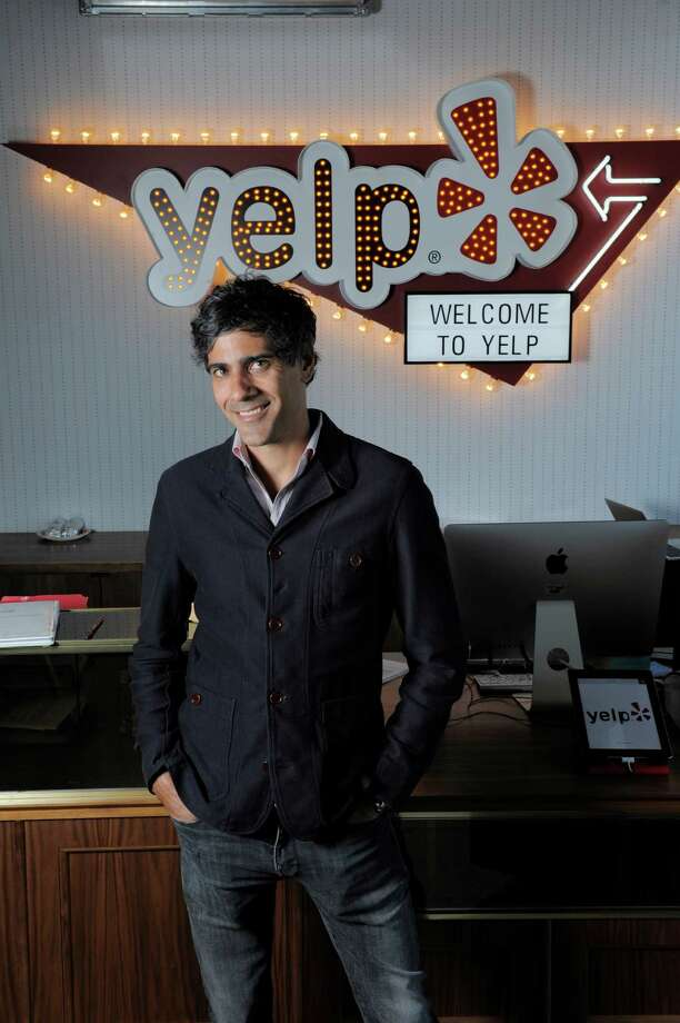 Yelp CEO and co-founder Jeremy Stoppelman poses for a portrait at Yelp headquarters on July 29, 2014 in San Francisco, CA. Yelp turns 10 years old during the Aug. 3 weekend. Photo: Craig Hudson, SFC / ONLINE_YES