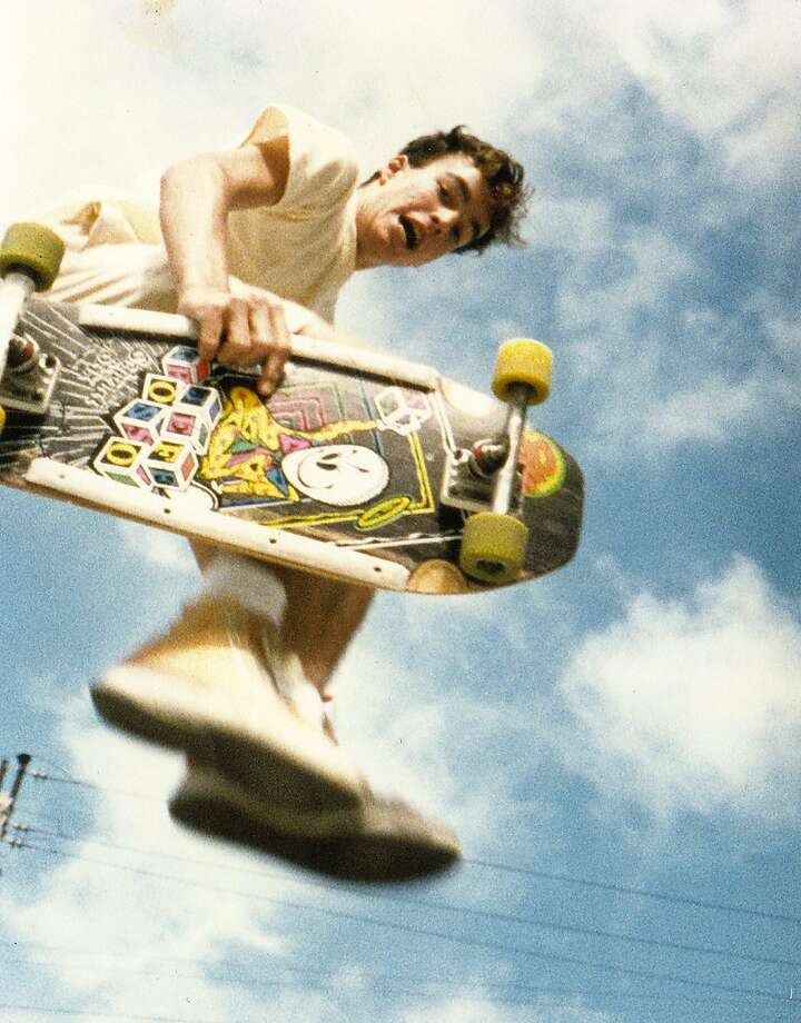 Sean Wilsey, who grew up in San Francisco in the '70s and '80s, found freedom in skateboarding the city's plazas, hills and streets. Photo: Courtesy Sean Wilsey