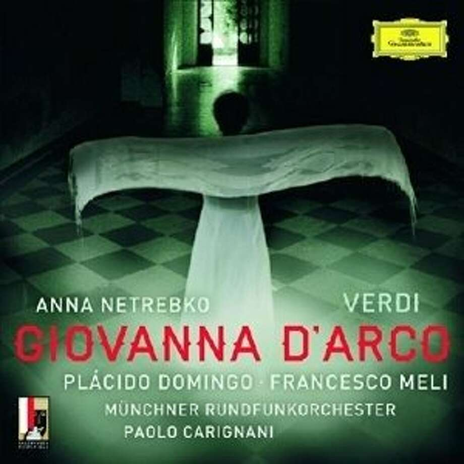CD cover: Verdi, Giovanna d'Arco Photo: Deutsche Grammophon