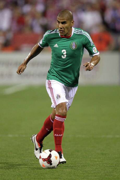 Carlos Salcido has represented Mexico in three World Cups. Photo: Jay LaPrete, FRE / FR52593 AP