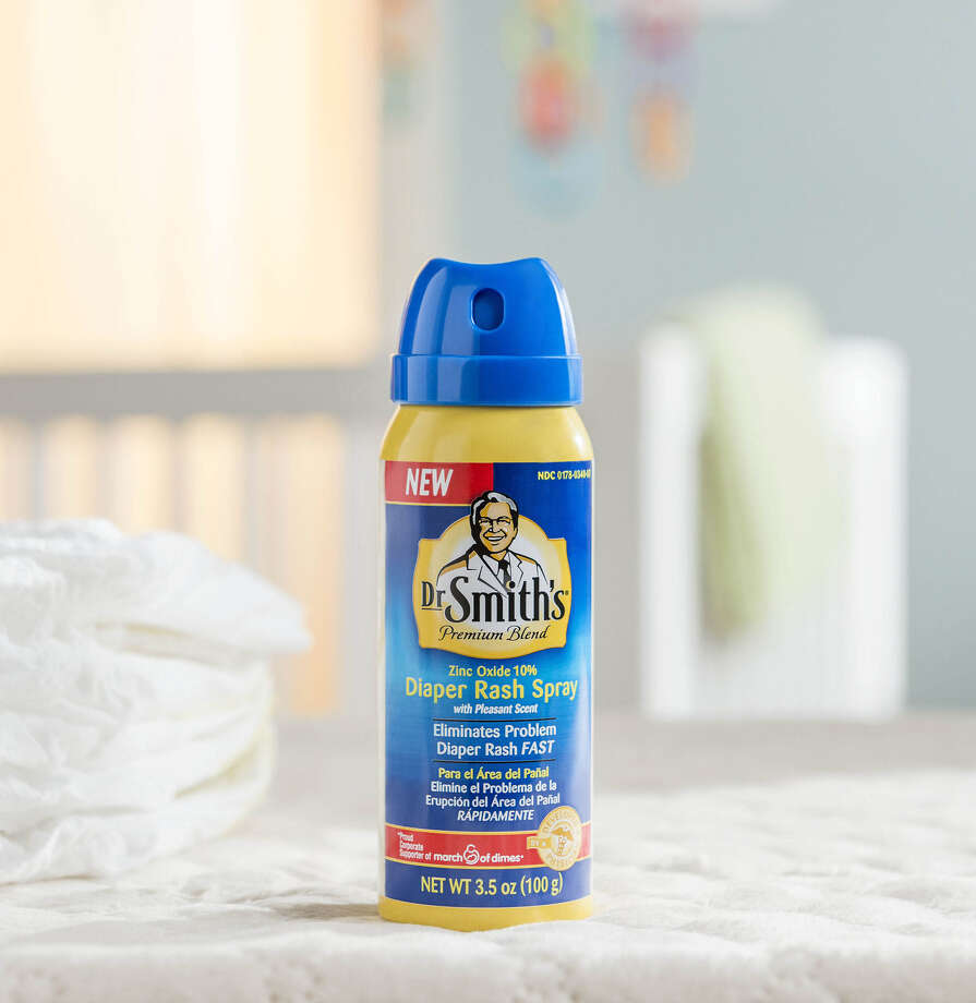 Mission Pharmacal has made a spray version of its Dr. Smith's diaper rash cream. Photo: Courtesy Mission Pharmacal Co.
