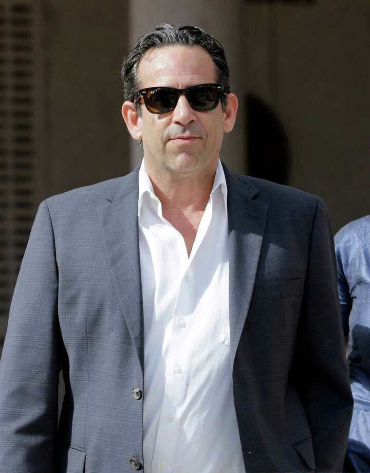 Anthony Bosch, former owner of the Biogenesis of America clinic, leaves the federal courthouse in Miami after paying bond on Tuesday, Aug. 5, 2014. Bosch was charged with conspiracy to distribute steroids. The former clinic owner accused of selling performance-enhancing drugs to Alex Rodriguez has agreed to plead guilty in what prosecutors called a wide-ranging conspiracy to distribute steroids to both major league ballplayers and high school athletes. (AP Photo/Alan Diaz) ORG XMIT: FLLS101 Photo: Alan Diaz / AP