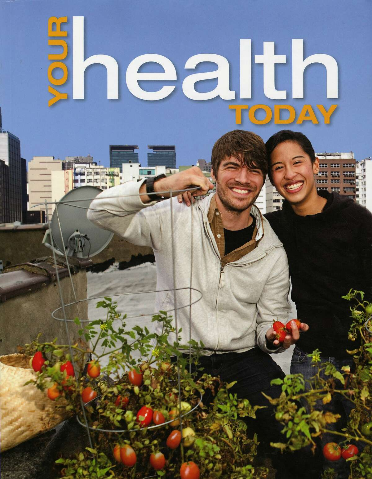 """The cover of the textbook """"Your Health Today"""" published by McGraw Hill. The book is causing controversy among parents in the Fremont Unified School District, where it is slated to be taught to their ninth-grade students. The parents say the book's diagrams and explicit descriptions are inappropriate for high school students."""