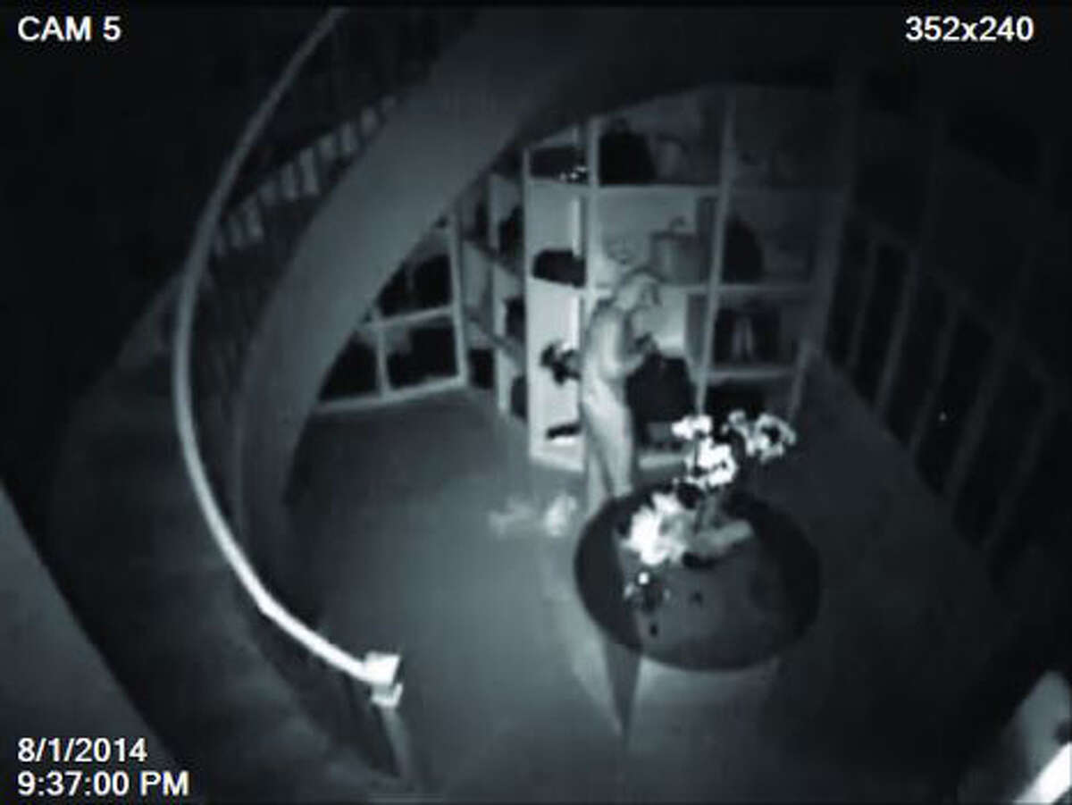 Montgomery County authorities hope video from an infrared security camera will help identify the jump-suited intruder who burgled a 3,000-square-foot closet in a mansion in TheWoodlands, stealing $1 million worth of luxury items.