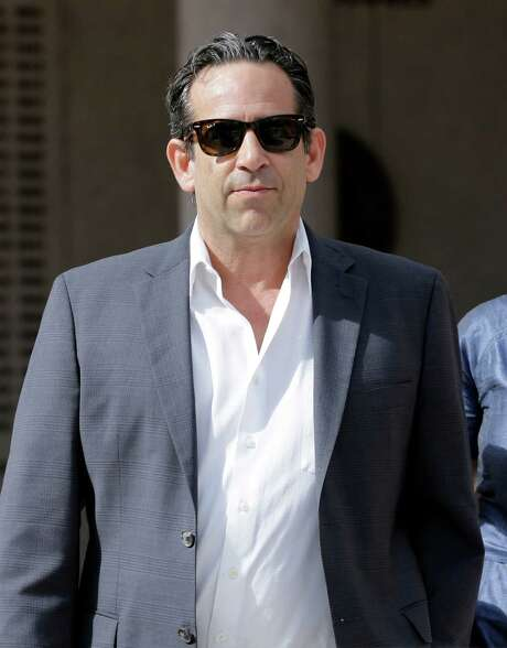 Anthony Bosch, former owner of the Biogenesis of America clinic, leaves the federal courthouse in Miami after paying bond on Tuesday, Aug. 5, 2014. Bosch was charged with conspiracy to distribute steroids. The former clinic owner accused of selling performance-enhancing drugs to Alex Rodriguez has agreed to plead guilty in what prosecutors called a wide-ranging conspiracy to distribute steroids to both major league ballplayers and high school athletes. (AP Photo/Alan Diaz) Photo: Alan Diaz, STF / AP