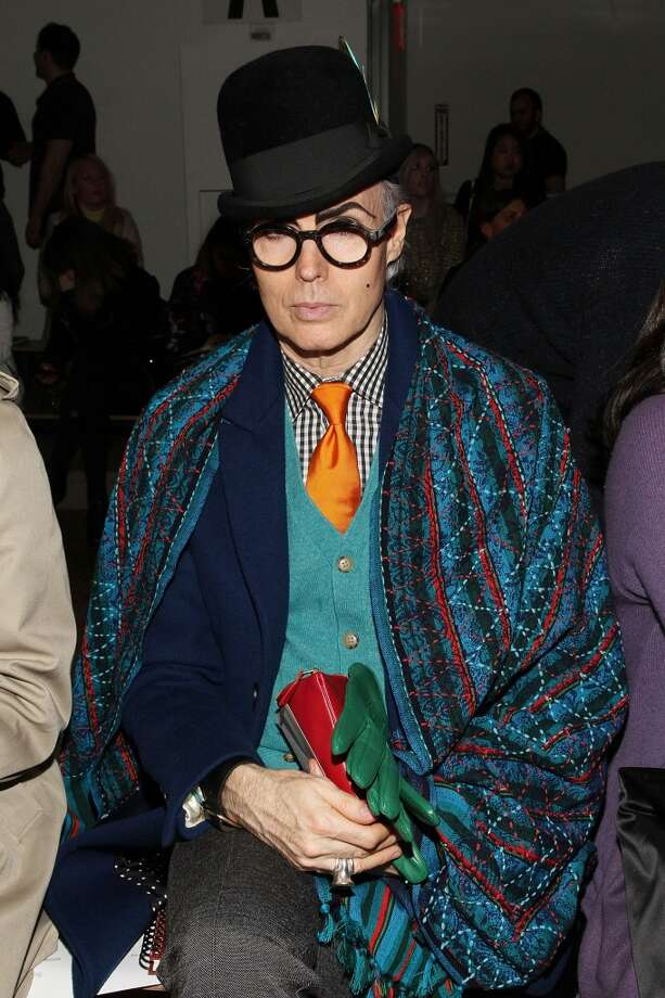 Patrick McDonald attends the Costello Tagliapietra fashion show during MADE Fashion Week Fall 2014 at Milk Studios on February 6, 2014 in New York City. Photo: Mireya Acierto, Getty Images