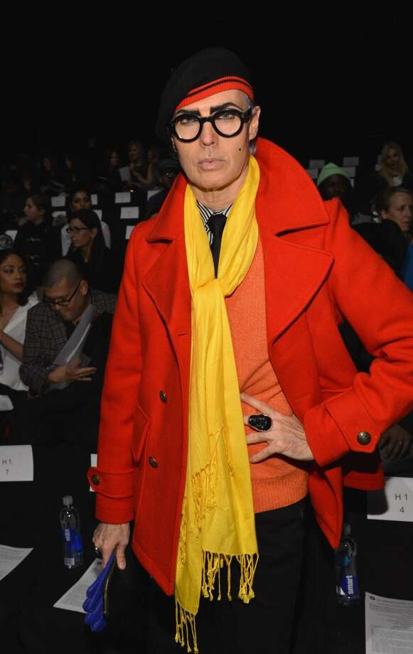 Patrick McDonald attends the Academy Of Art University Fall 2014 Collections show during Mercedes-Benz Fashion Week at The Theatre at Lincoln Center on February 7, 2014 in New York City. Photo: Slaven Vlasic, Getty Images For Academy Of Art University