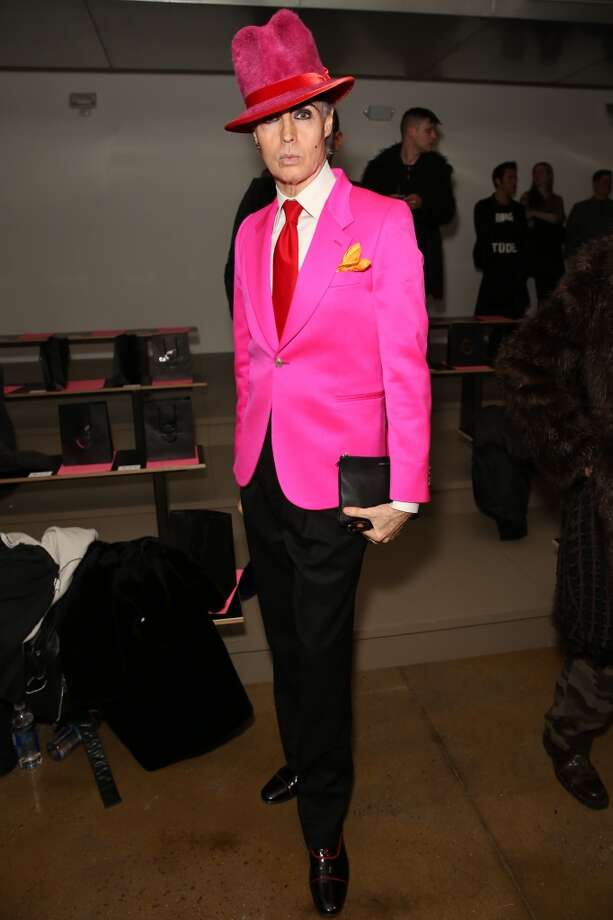 Patrick McDonald attends the The Blonds fashion show during MADE Fashion Week Fall 2014 at Milk Studios on February 12, 2014 in New York City. Photo: Chelsea Lauren, Getty Images