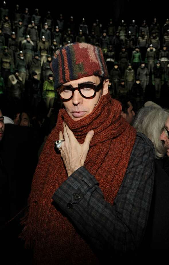 Patrick McDonald attends the Moncler Grenoble fall 2013 fashion show during Mercedes-Benz at Gotham Hall on February 9, 2013 in New York City. Photo: Craig Barritt, Getty Images