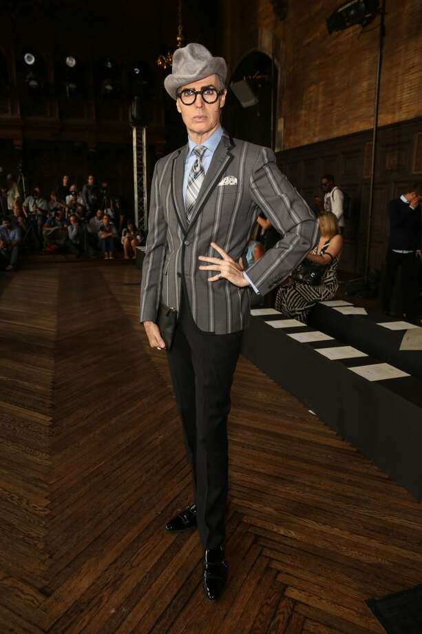 Modern-day dandy Patrick McDonald attends the Giulietta fashion show during Mercedes-Benz Fashion Week Spring 2014 at The Highline Hotel on September 8, 2013 in New York City. Photo: Chelsea Lauren, Getty Images