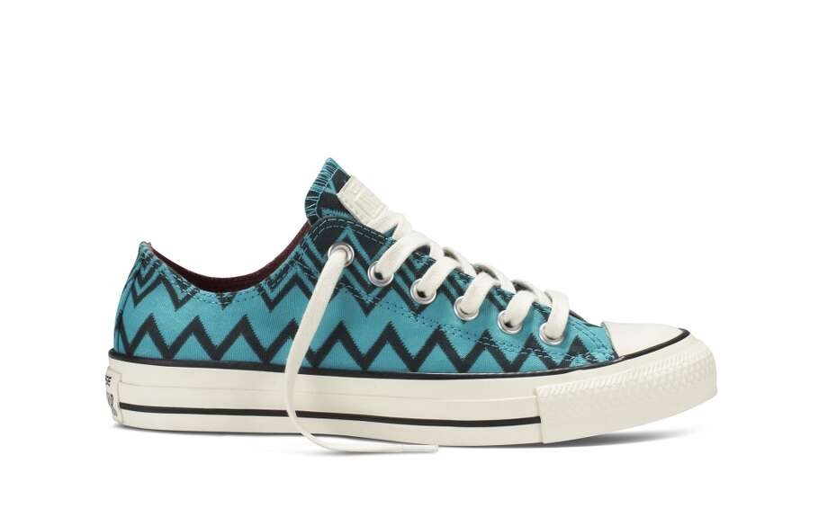 Converse + Missoni collaboration features classic high-top and low-top styles, $85 -$100. Photo: Converse
