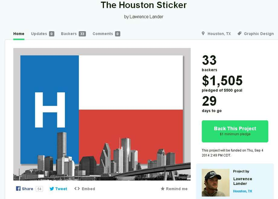 screengrab of kickstarter Photo: Lawrence Lander