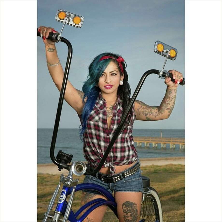 Michelle Barrera, is one of two Corpus Christi women competing in the first ever Miss Texas Inked  competition, which will be held this September in Fort Worth.Click through to see the women who are competing from all over the Lone Star State.  Photo: Miss Texas Inked