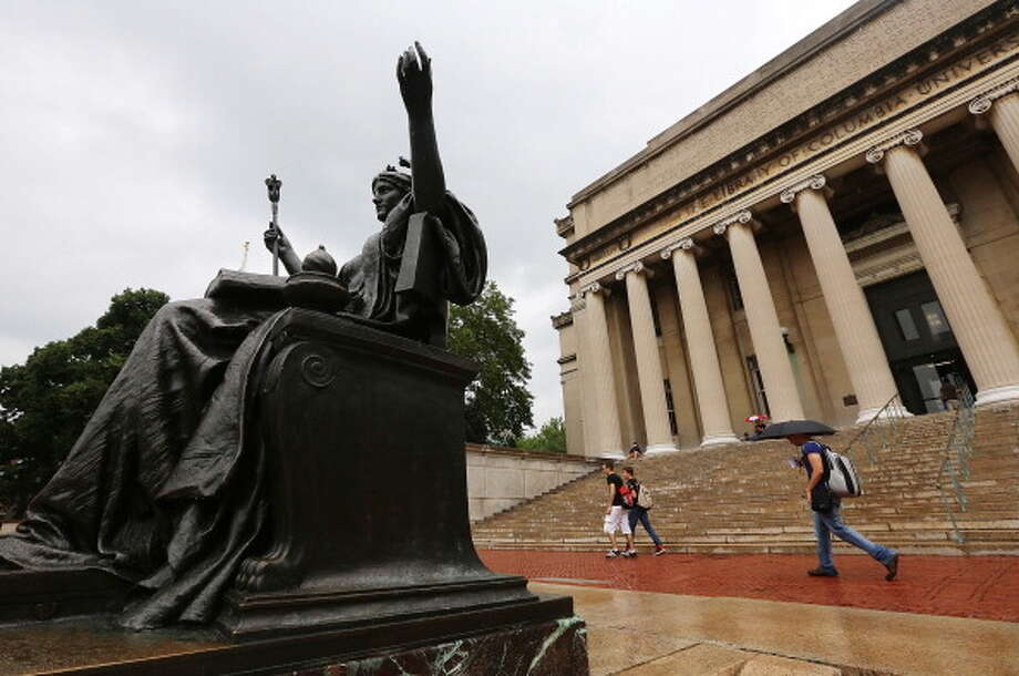 6. Columbia University Photo: Mario Tama, Getty Images / 2013 Getty Images
