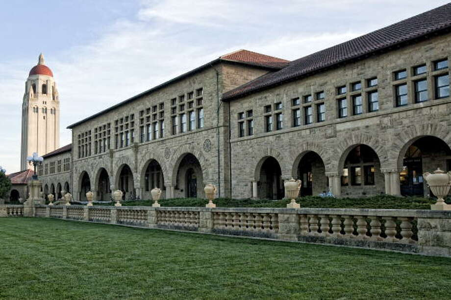 2. Stanford University Photo: Bloomberg, Getty Images / 2009 Bloomberg