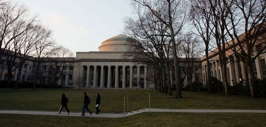 4. Massachusetts Institute of Technology Photo: Joe Raedle, Getty Images / 2006 Getty Images