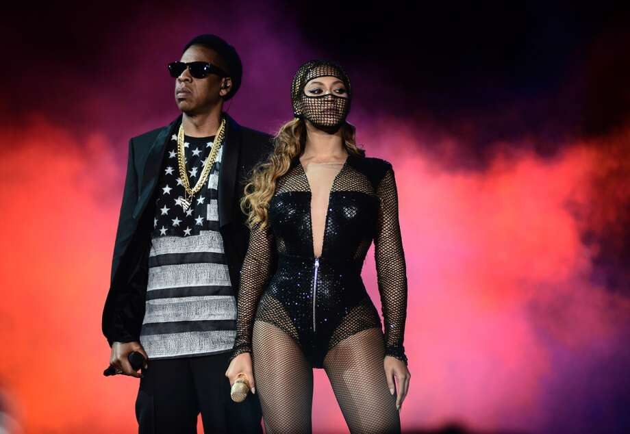 Beyonce and JAY Z perform during the Beyonce and Jay Z - On the Run tour at AT&T Park on Tuesday, Aug. 5, 2014, in San Francisco. Photo: Mason Poole, Associated Press