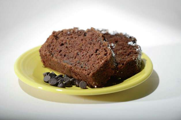 Chocolate zucchini bread Friday, Aug. 1, 2014, at the Times Union in Colonie, N.Y. (Will Waldron/Times Union) Photo: WW / 00028022A