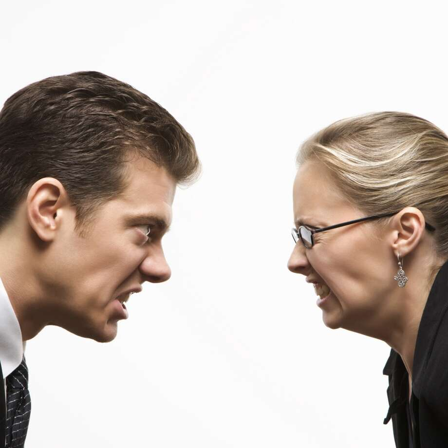 I sometimes bump heads with my boss because… Hiring managers will imagine themselves as your current boss and picture you saying negative things about them in the future. Even if you have a bad boss, protect his pitfalls in an interview. Doing so will make you look trustworthy in the eyes of a future supervisor. Photo: Fotosearch Premium, Getty Images/Fotosearch RF