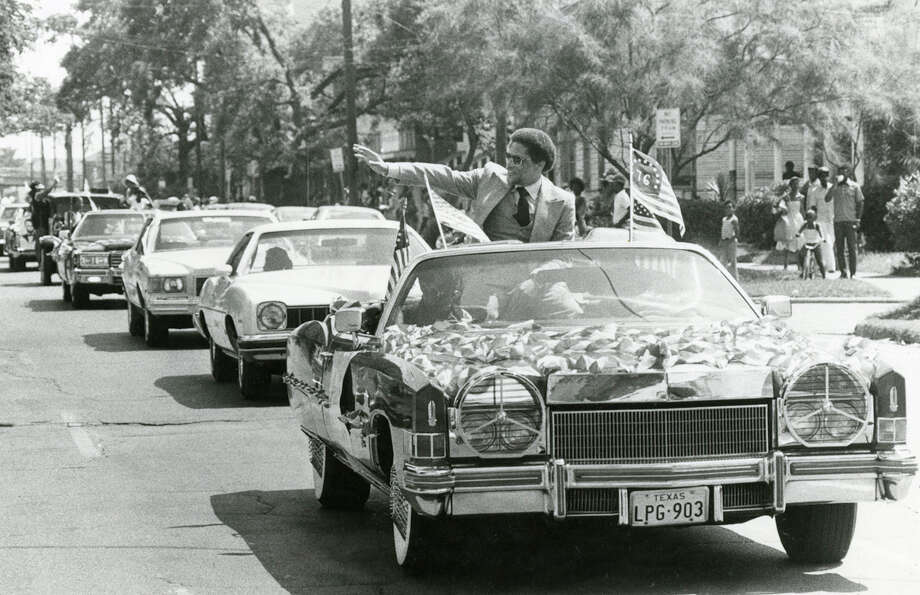 Rep. mickey Leland in Houston, circa June 1978. Mickey Leland, a Democratic congressman from Texas 18th District, died Aug. 7, 1989 at age 44 when a plane he was on crashed during a mission trip in Fugnido, Ethiopia. Photo: Houston Chronicle File Photo