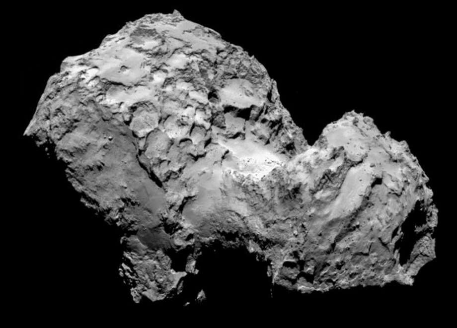 The comet on Aug. 6. Photo: Rosetta Spacecraft, European Space Agency
