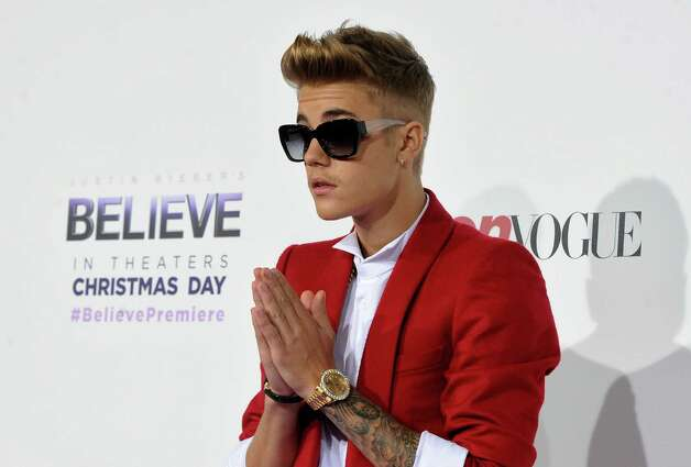 Justin Bieber Photo: Kevin Winter, Staff / 2013 Getty Images