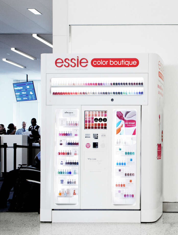Essie nail color is installing an Essie color Boutique -- a self-service digital kiosk -- at George Bush Intercontinental Airport in Terminal C. Photo: Essie / Essie