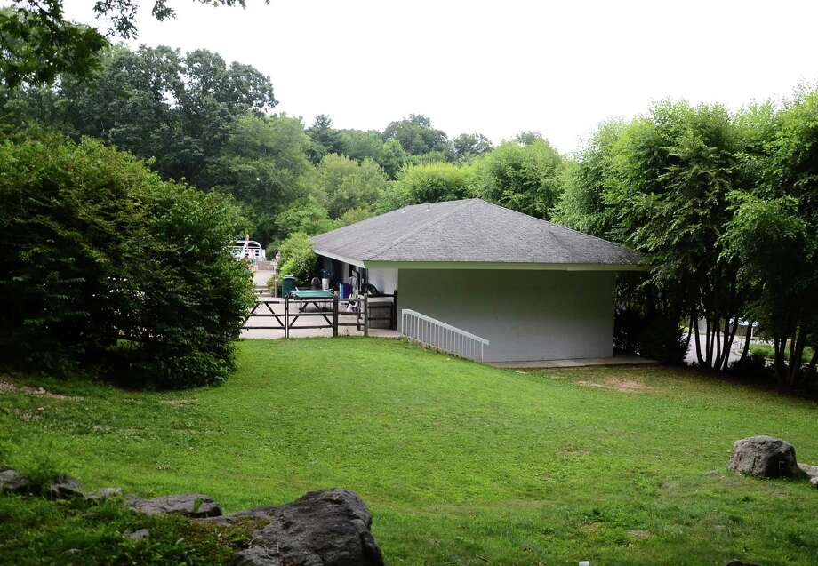 The New Canaan Field Club, 164 Smith Ridge Road, New Canaan, Conn., is seeking to enlarge its pool pavilion to house a youth enrichment program, new locker rooms, an elevator, a deck, among other amenities. Photo: Nelson Oliveira / New Canaan News